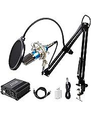 TONOR XLR tot 3,5 mm condensatormicrofoon kit