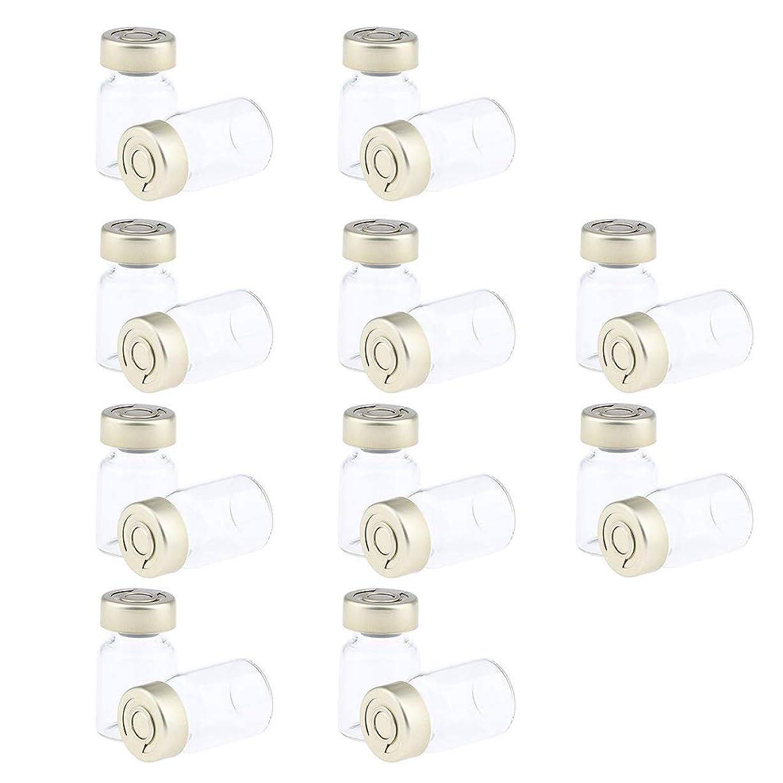 継続中注釈を付ける無限大F Fityle 約20個 密封バイアル 空ボトル ガラス密封 セラム バイアル びん 液体容器 3サイズ選べ - 5ミリリットル