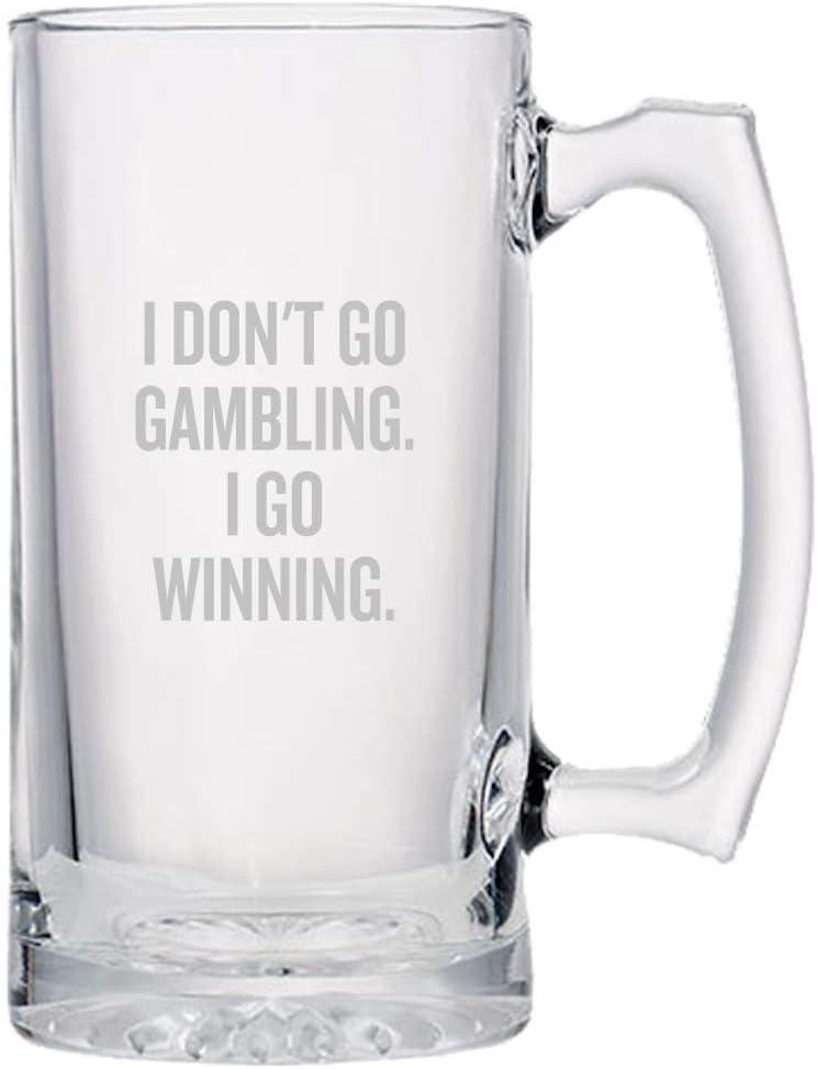 Gambling Beer Mug - Funny Lovers I Gift Casino Dallas Max 41% OFF Mall Gambler