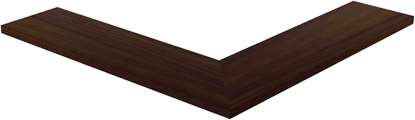 National uniform free shipping Wddwymll Rustic Oak Floating Wall Shelves store to Easy C Install Wood