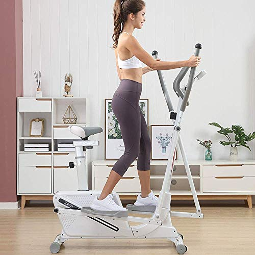Elliptical Cross Trainer Elliptical Trainer And Exercise Bike With Seat And Easy Computer...