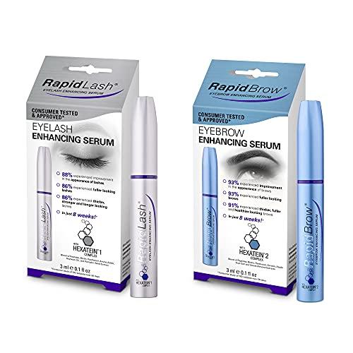 RapidBrow Eye Brow Enhancing Serum and RapidLash Eye Lash Enhancing Serum Duo Set