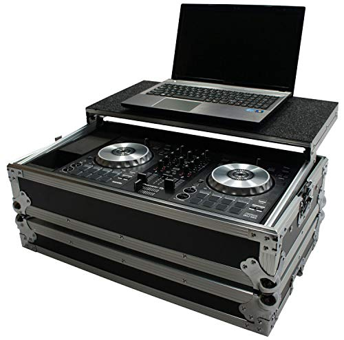 Harmony HCDDJSBLT Flight Glide Laptop Stand Road DJ Case Compatible with Pioneer DDJ-SB3