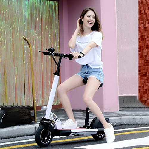 Scooter, Patinete eléctrico Plegable, Pantalla LCD, 45 Km Alcance, 40 km/h, 15AH...