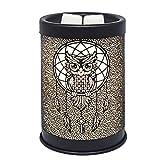 EQUSUPRO Metal Wax Melt Warmer Electric Candle Burner Melter Fragrance Warmer for Home