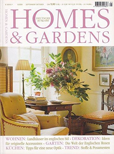 Homes & Gardens - 5/2000 - Landhausstil, Küchenmöbel, Stoffe, Rosen