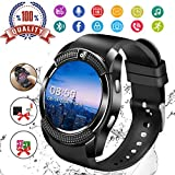 Smart Watch,Fitness Watch Activity Tracker with Heart Rate Blood Pressure Monitor IP67 Waterproof Bluetooth Smartwatch Touch Screen Sports Tracker Watch for Android iOS Phones Men Women Kids