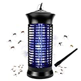Bug Zapper, Powerful Insect Killer,Electric Mosquito Zappers, Mosquito lamp, Mosquito eradicator-Light-Emitting Flying Insect Trap with Electronic UV Lamp for for Indoor