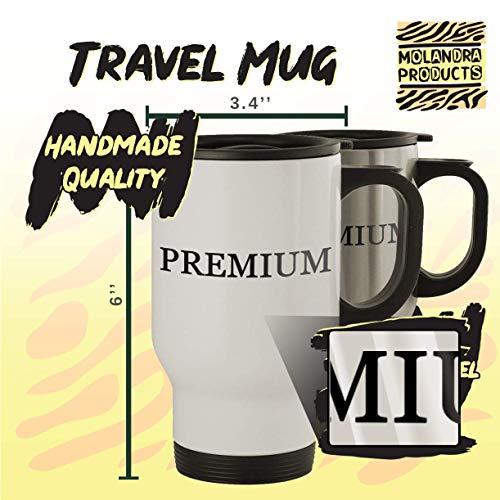 got associate? - Stainless Steel 14oz Travel Mug, White