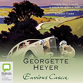 Envious Casca: Inspector Hemingway Series, Book 2                   By:                                                                                                                                 Georgette Heyer                               Narrated by:                                                                                                                                 Ulli Birvé                      Length: 11 hrs and 36 mins     15 ratings     Overall 4.5