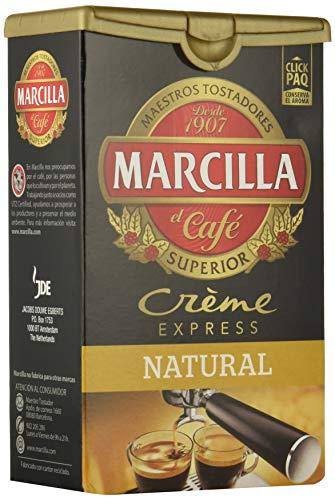 Marcilla - Crème Express - Café Molido Natural - 250 g - [Pack de 5]