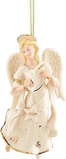Best Lenox 2020 Angel Ornament, 0.80 LB, Ivory Review