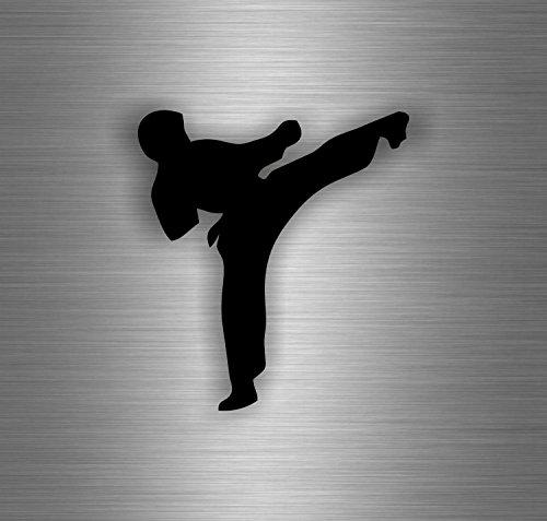 Akachafactory Aufkleber Sticker Auto Motorrad Karate Kampfsport Taekwondo Kung Fu