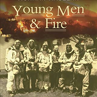 Young Men and Fire audiobook cover art