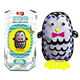 Toiing Stitchtoi Penguin - Sewing Kit for DIY Soft Toy | Art & Craft Kit | Indoor Toy with Story for Kids Age 5 Years & Above | Fun Birthday Gift & Party Favor