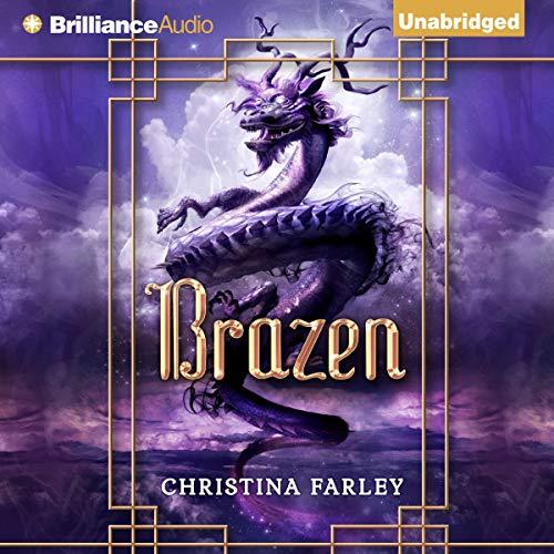 Brazen audiobook cover art