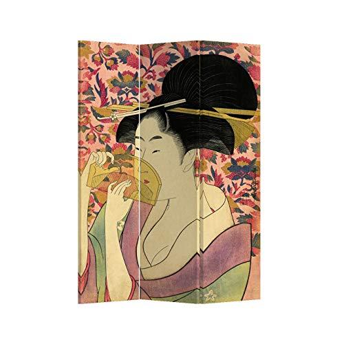 Fine Asianliving El biombo Biombo Decorativo Separador Biombos de Dorm