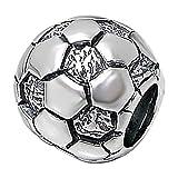 So Chic Bijoux © Charm Perle Ballon Football Argent 925 - C