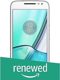 (Renewed) Motorola G4 Play XT1602 (White, 16GB)