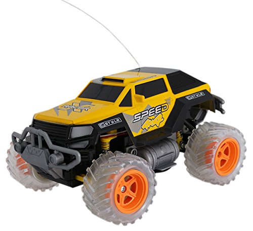 Lutema Extreme SUV 4CH Remote Control Truck, Yellow, One Size