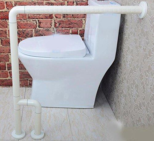 QPSSP Nessun Ostacolo Agli Anziani E Ai Disabili Water Nylon Bracciolo Bracciolo Bagno Nella Vasca Da Bagno 100Cm Bacino Corrimano Bianco / 80Cm,B.