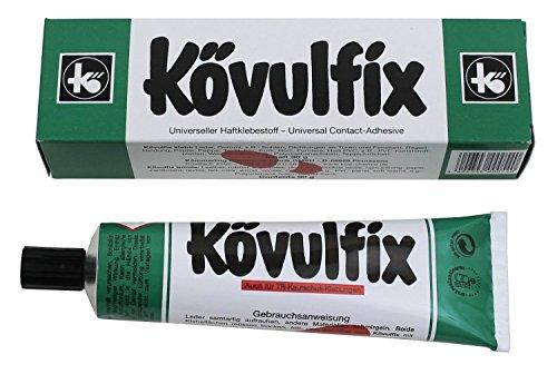 STOFFKONTOR 60 gr Tube Kövulfix Universalkleber Textilkleber für Leder Stoff uvm.