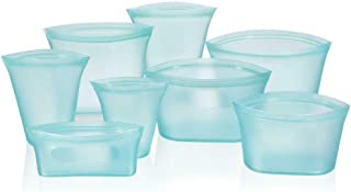 feelingood Multifunction Zip Lock Leakproof Containers Dishes Bags Set Plastic-Free Kitchen Supplies