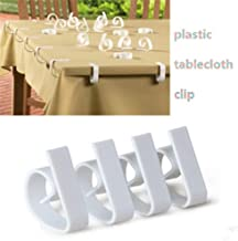 VHLL 4PCS/lot Table Cover Cloth Desk New Plastic Skirt Clip for Wedding Party Picnic Portable Clamp New