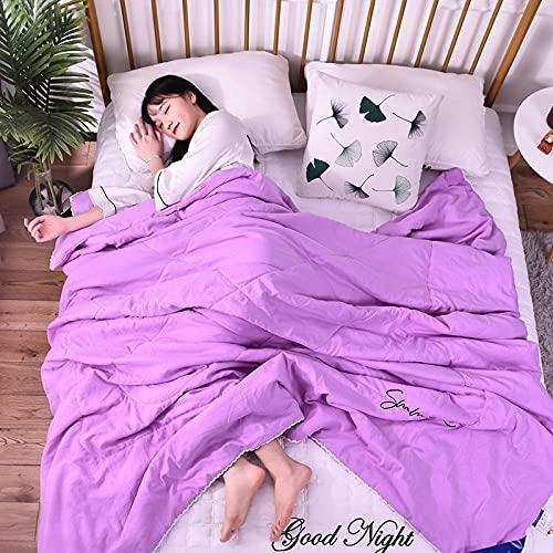 xinghui L'aria condizionata Estiva è ridotta in fresche estive-Viola_200 * 230 cm.