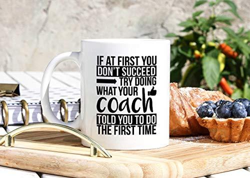N\A Trainer Kaffeebecher - Lustige Trainer Geschenke - Trainer Geschenke - Trainer Cup - Fußball Fußball Volleyball Basketball Trainer Geschenk - Fußball Saison Geschenke