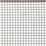 Rete Protettiva in Plastica a Maglia Quadrata per Balconi, Cancelli e Recinzioni, Tenax Quadra 10, Argento, 1,00 x 5 m