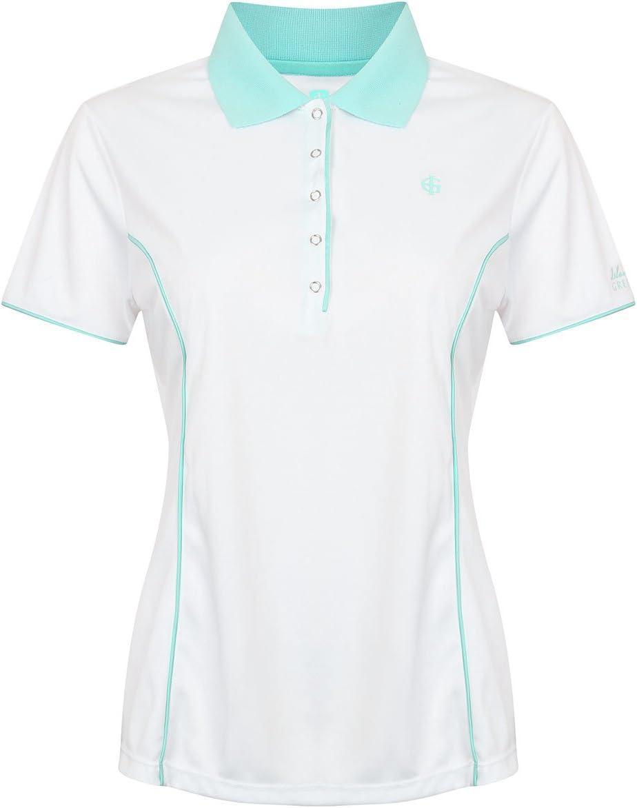 Island Green Women's IGLTS1672 Polo Atlanta Mall Size Turquoise Shirt Virginia Beach Mall 12