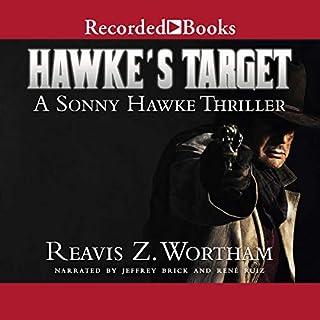 Hawke's Target audiobook cover art