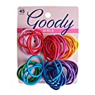 Goody Girls Ouchless Mixed Pack Elastics, 2 mm (45 Count)