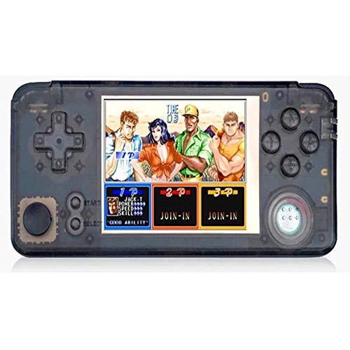 JIA JIA Manette De Jeu Mini Arcade Portable GBC GBA PSP 8-Bit NES Jeu Nostalgie 16G 10 Émulateur 1600Mah Extension De Support 32G