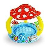 HSRG Piscina hinchable con sombrilla para bebés, piscina para niños al aire libre, piscina para niños