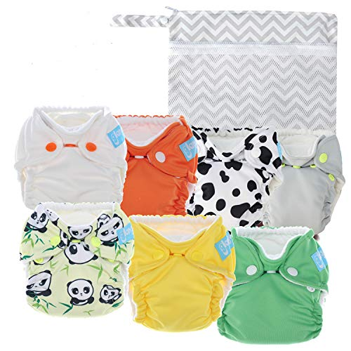 Glangels Cloth Diapers for Newborn review