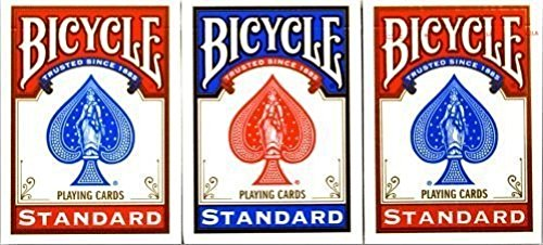 Bicycles are pricey but Bicycle playing cards can be do able. Great for gift ideas for the letter b.
