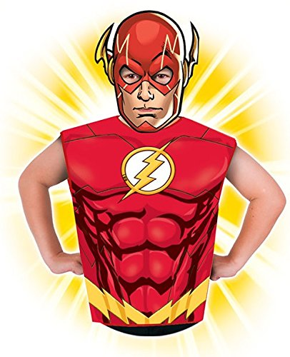 Stinkyface Rubies officiële DC strips partij aankleden Pack kinderen Fancy jurk kostuum (Flash)