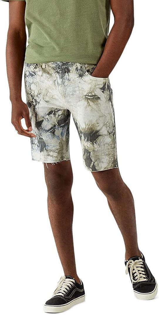 PacSun Men's Danny Tie-Dyed Denim Shorts