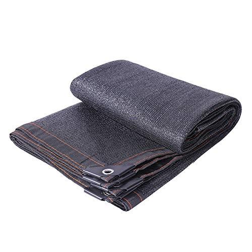 Schwarz Schatten Netz for Sonnenschutz, geeignet for Treibhaus Shading net, Staub Netz, Bodennetz, Anti-Aging (Size : 4x6Meter)