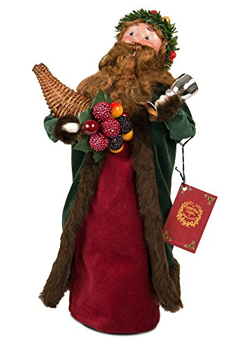 Byers' Choice Spirit Present Caroler Figurine 207 from The A Christmas Carol Collection