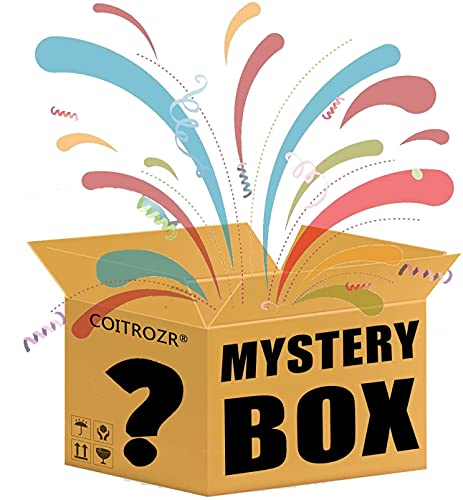 YGXS Mystery Box, Lucky Boxes, Incluidas Bicicletas De Equilibrio, Drones, Periféricos De Computadora, Tabletas, Relojes Inteligentes