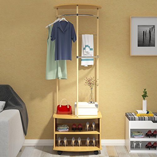Dongyd Fashion Creative - Perchero multifuncional para dormitorio (color: color pino)