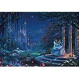 ジグソーパズル ディズニー トーマス・キンケード Cinderella Dancing in the Starlight 1000ピース (51x73.5cm)