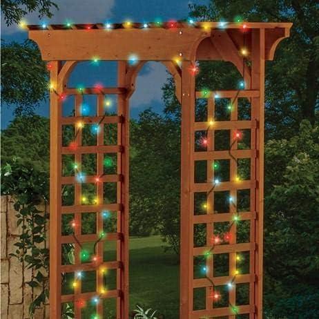 XOXO Set of 100 Multicolor Solar Steady Atlanta Mall Lights - Flashi String Max 53% OFF