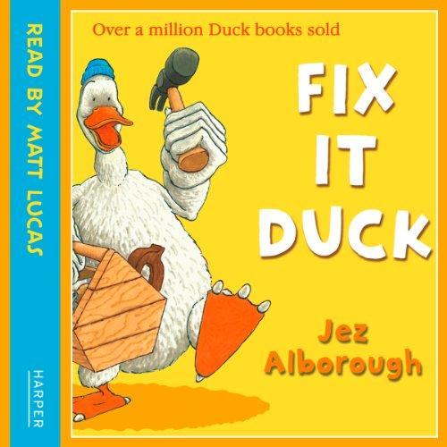Fix-It Duck audiobook cover art
