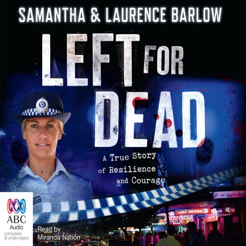 Left for Dead audiobook cover art