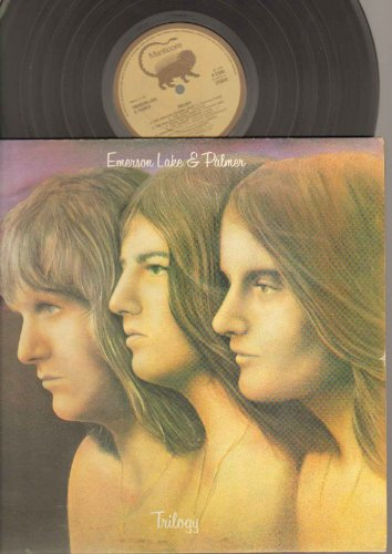 Emerson Lake And Palmer - Trilogy - LP vinyl