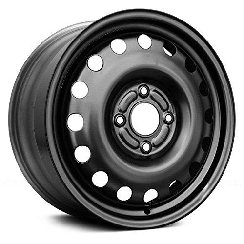 Value Replica 16 Round Vents Black Factory Steel Wheel